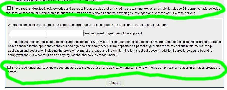 Merewether Membership step 5